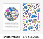 card templates with doodle... | Shutterstock .eps vector #1715189008