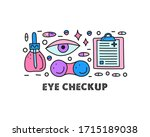 poster with lettering and... | Shutterstock .eps vector #1715189038