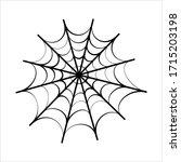 Spider Web Icon Design Vector...