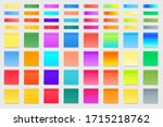collection of colorful vector... | Shutterstock .eps vector #1715218762