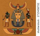 vector illustration symbols of... | Shutterstock .eps vector #1715458732