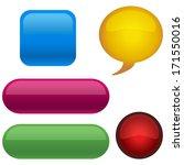button set    Shutterstock .eps vector #171550016