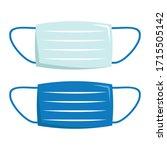 safety breathing medical... | Shutterstock .eps vector #1715505142