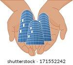 vector illustration of hands... | Shutterstock .eps vector #171552242