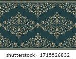 vector damask border element... | Shutterstock .eps vector #1715526832