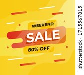 sale stickers splash concept... | Shutterstock .eps vector #1715567815