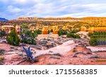 Red rock canyon desert landscape. Desert in red rock canyon. Red rock canyon desert. Red rock canyon desert panorama