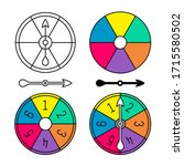 Board Game Color Spinner With...