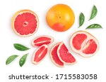 Grapefruit And Slices With...