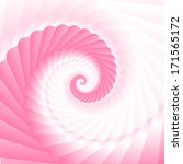 double colored twirl   white... | Shutterstock .eps vector #171565172