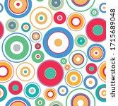 vector seamless geometric...   Shutterstock .eps vector #1715689048