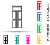 entrance door multi color style ...