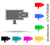 email marketing multi color...