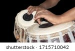 Tabla Player Playing The...