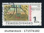 czechoslovakia   circa 1968 ...   Shutterstock . vector #171576182