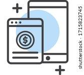 digital marketing icon vector...