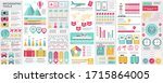 bundle travel infographic ui ... | Shutterstock .eps vector #1715864005