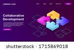 collaborative development ...   Shutterstock .eps vector #1715869018
