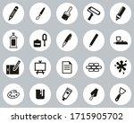 painting   art equipment icons...   Shutterstock .eps vector #1715905702
