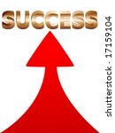 the way for success illustration | Shutterstock .eps vector #17159104