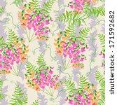 floral   seamless pattern | Shutterstock .eps vector #171592682