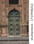 Detail Of Church Door In...