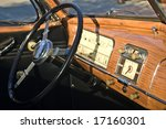 Dashboard Of An Antique...