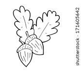 cartoon acorns | Shutterstock . vector #171605642