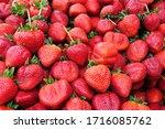 Group Of Fresh Strawberries...