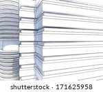 abstract city sketch | Shutterstock . vector #171625958