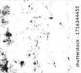 vector grunge black and white... | Shutterstock .eps vector #1716344455