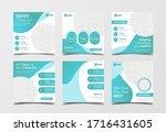 medical healthcare banner for... | Shutterstock .eps vector #1716431605