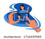 photography for social media... | Shutterstock .eps vector #1716459985