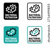 """bacterial filtration""... 