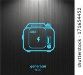 gasoline powered portable...   Shutterstock .eps vector #171654452