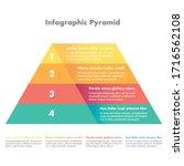 Hierarchy Pyramid In 4 Colors...
