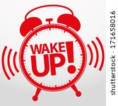 wake up alarm clock icon ... | Shutterstock .eps vector #171658016