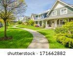 luxury house in vancouver ... | Shutterstock . vector #171662882