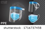 realistic solid personal... | Shutterstock .eps vector #1716737458