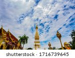 Wat Phra That Phanom Located In ...