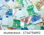 Euro Banknotes In 10  20  50 ...