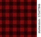 textured vector plaid pattern... | Shutterstock .eps vector #171677846