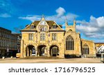 Small photo of Guildhall at Cathedral Square in Peterborough - Cambridgeshire, England