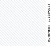 diagonal lines pattern.... | Shutterstock .eps vector #1716890185