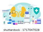 kidney failure professional... | Shutterstock .eps vector #1717047028