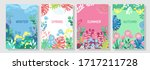 illustration set season element ... | Shutterstock .eps vector #1717211728