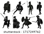 Ancient Roman Warrior With A...