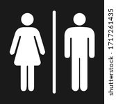 Girls And Boys Restroom Sign....