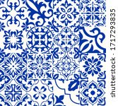 Set Of 16 Tiles Azulejos In...