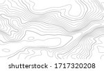 contour topographic map.... | Shutterstock .eps vector #1717320208